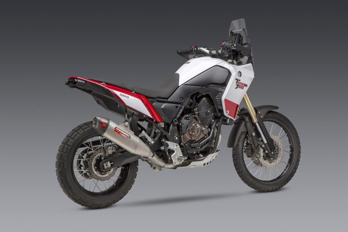 201023 Yoshimura Introduces 2021 Yamaha Tenere 700 RS-12ADV Full System - quarter