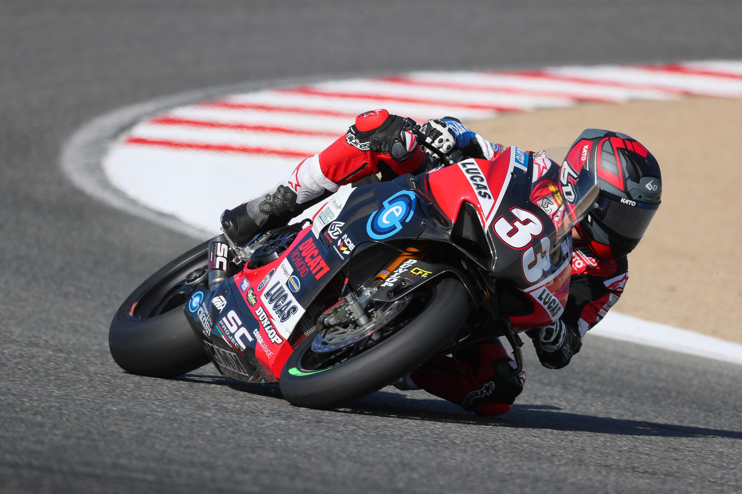 201024 MotoAmerica - Kyle Wyman - #33 – Laguna Seca (2)