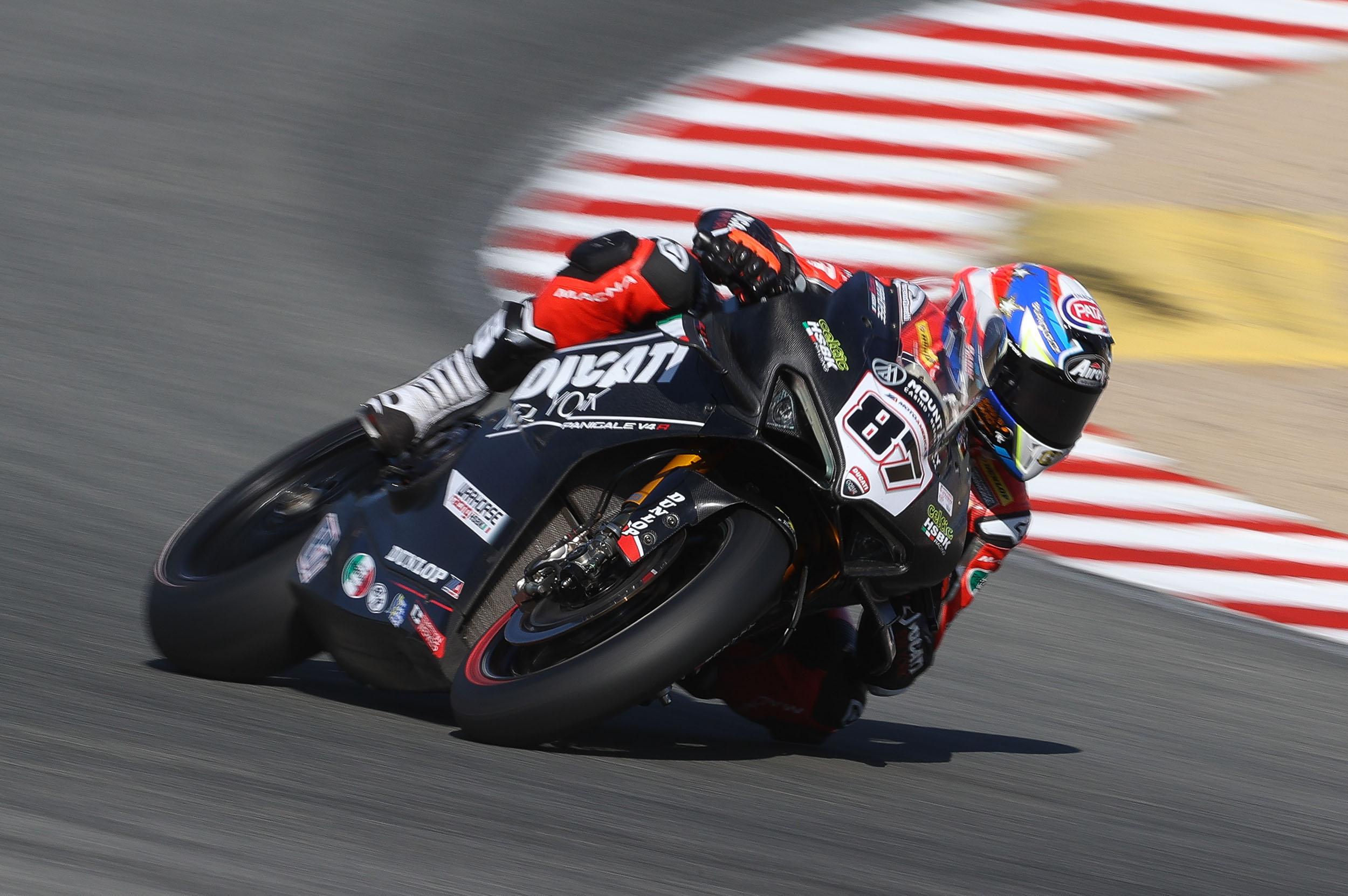 201024 MotoAmerica - Lorenzo Zanetti - #87 – Laguna Seca