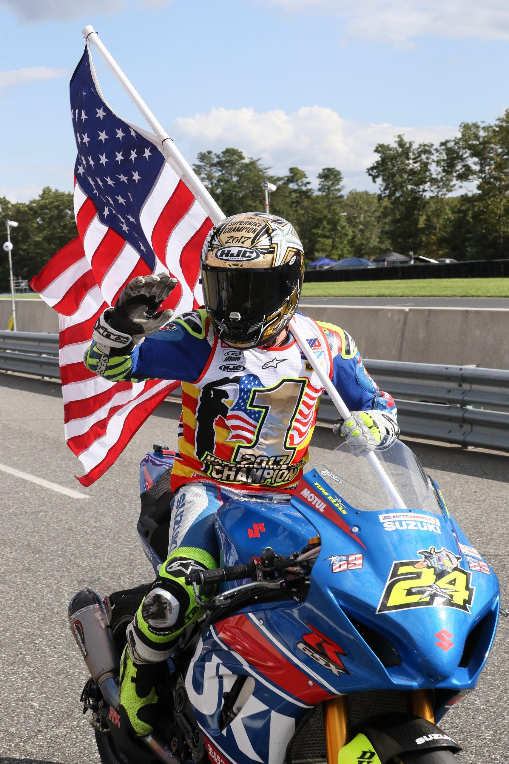 201024 The 2017 MotoAmerica Superbike Championship was a highlight of Toni's Suzuki racing career