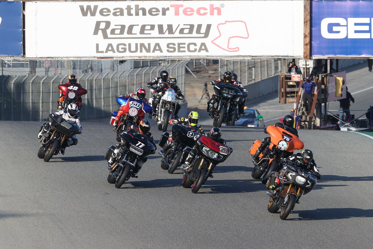 201025 The King of the Baggers gets underway at WeatherTech Raceway Laguna Seca