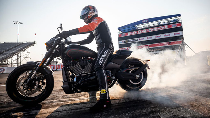 """Harley-Davidson LiveWire Motorcycle Shows The Thrills of Drag Racing's Future in """"Science of Speed"""""""