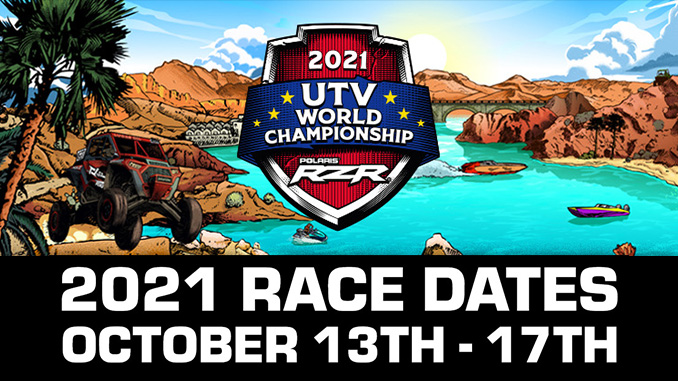 2021 UTV World Championship dates (678)