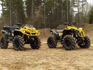 Can-Am Takes it to the Next Level With the ATV Industry's Best 4-Wheel Drive System (678)