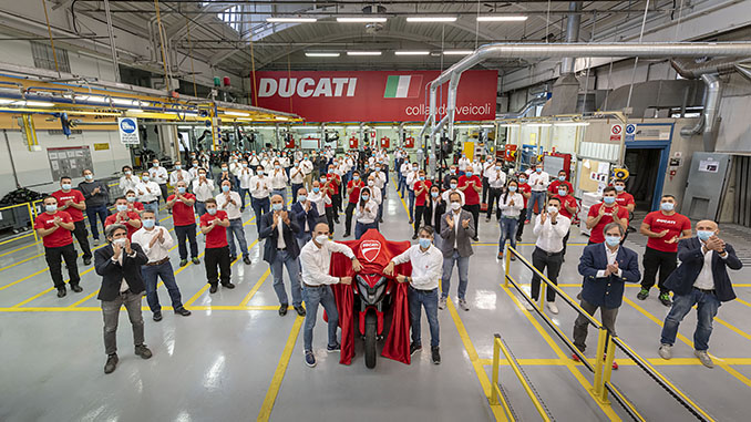 DUCATI Multistrada V4 development team (678)