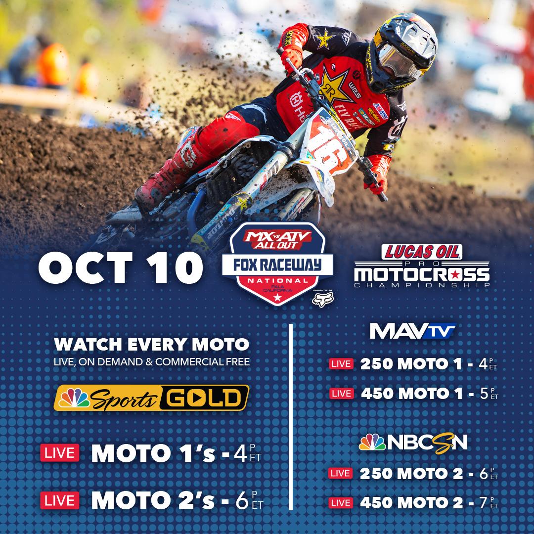 How to Watch- MX vs ATV Fox Raceway National (2)