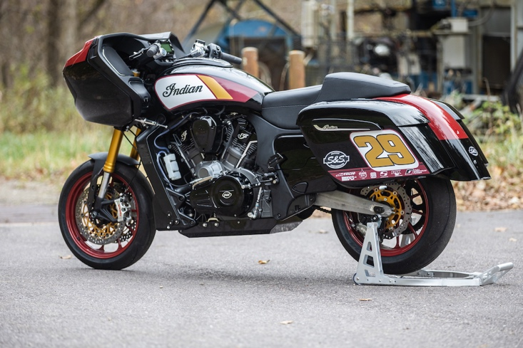 Indian Motorcycle and S&S Cycle to Race at Inaugural 'King of the Baggers' (2)