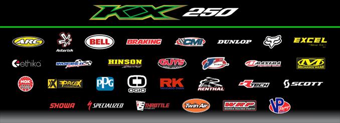 Monster Energy - Pro Circuit - Kawasaki sponsor banner