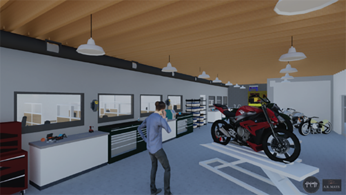 Powerhouse Brands - Rendering of new State of the art R&D lab