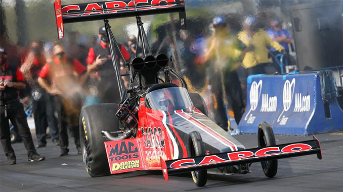 Steve Torrence expands Top Fuel points lead by beating dad in FallNationals final (678)
