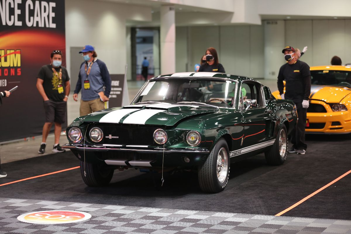 1967 Shelby GT500 Fastback Shelby No. 00812, 428 CI, 4-Speed (Lot F105) sold at $253,000
