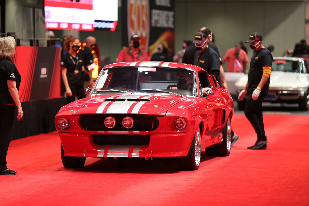 1968 Ford Mustang GT500CR Fastback Supercharged 5.0L/770 HP, 5-Speed (Lot S88) sold at $225,500