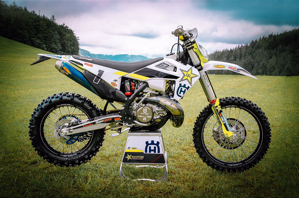 201111 TE 300i_Graham Jarvis_Rockstar Energy Husqvarna Factory Racing