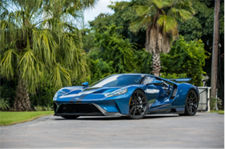 2019 Ford GT 'Lightweight' (Credit – Deremer Studios, LLC © 2020 Courtesy of RM Sotheby's)