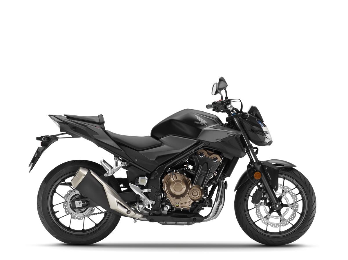 2021 Honda CB500F Black Darkness Black Metallic