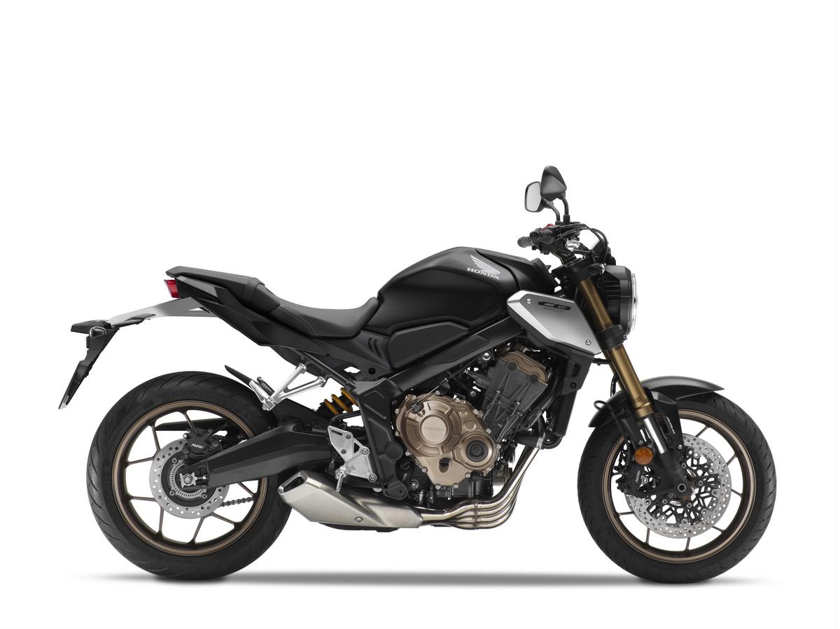 2021 Honda CB650R Matte Black Metallic RHP