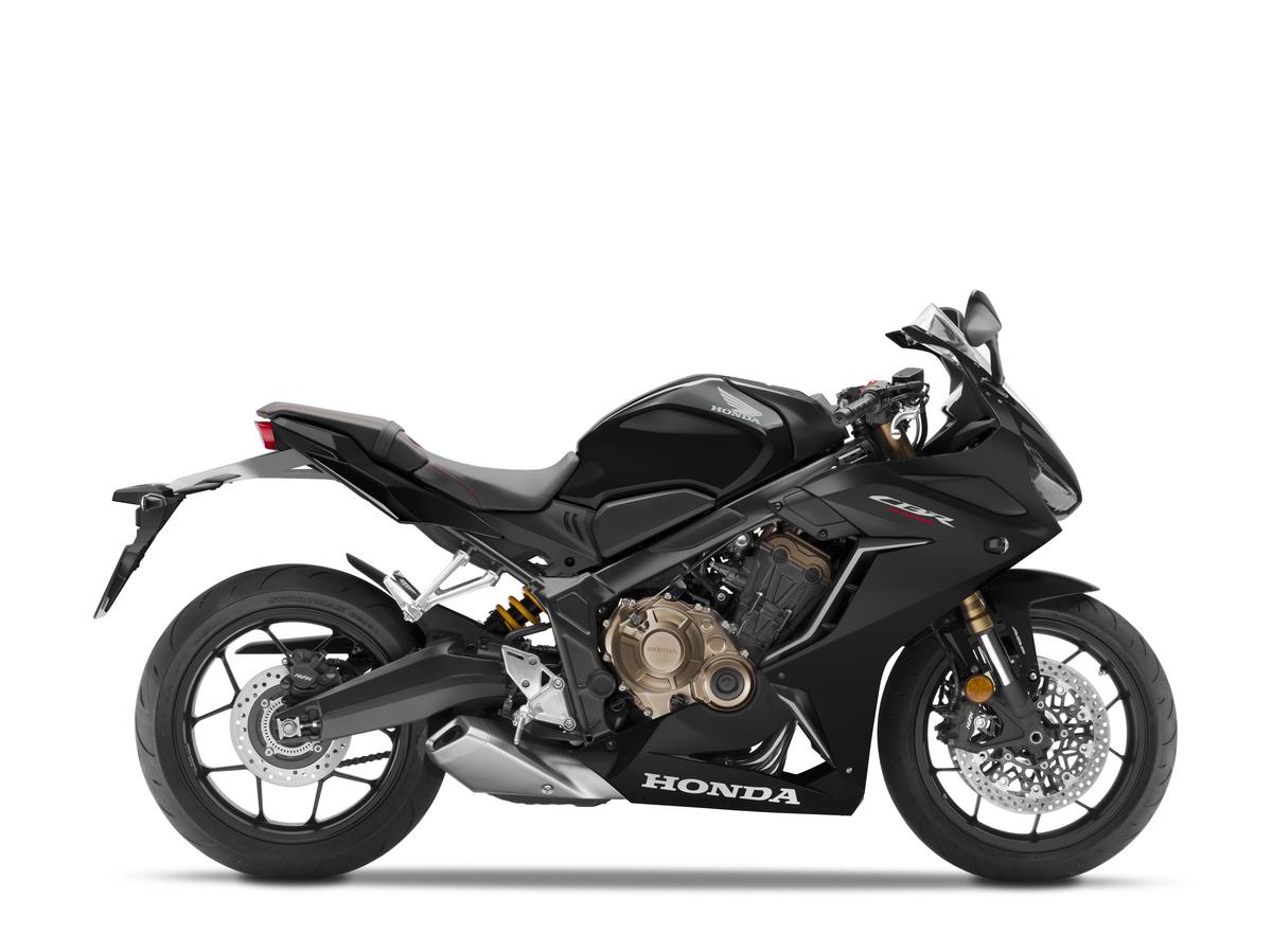2021 Honda CBR650R Matte Black Metallic RHP