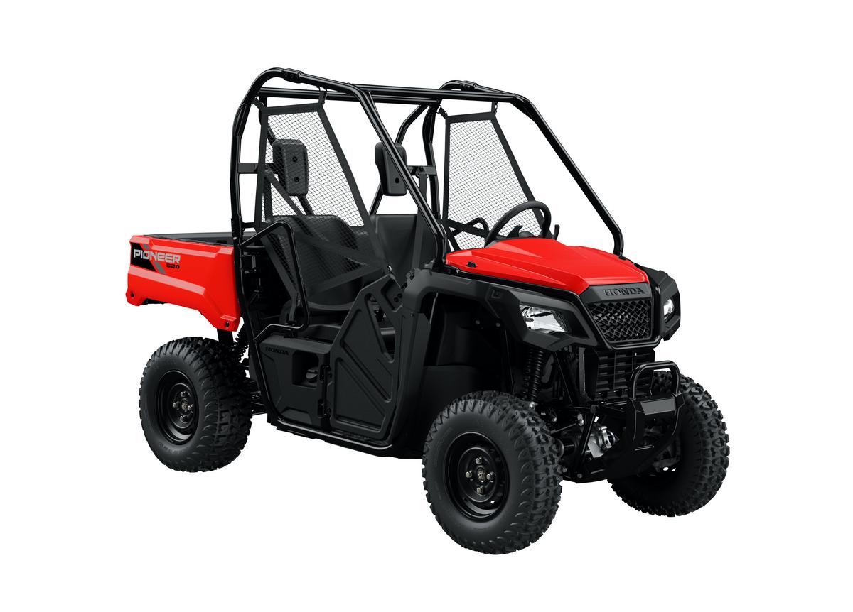 2021 Honda Pioneer 520 Red