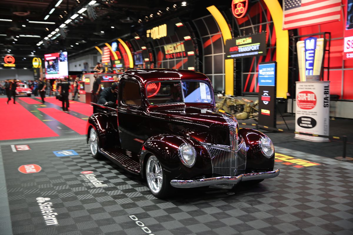 1941 Ford Custom Pickup Supercharged Coyote V-8, Automatic (Lot S81) sold at $206,250