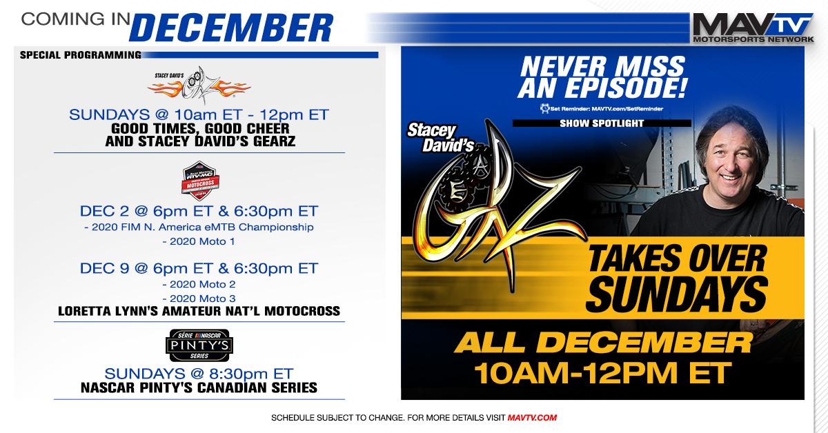 201202 MAVTV December Broadcast Schedule