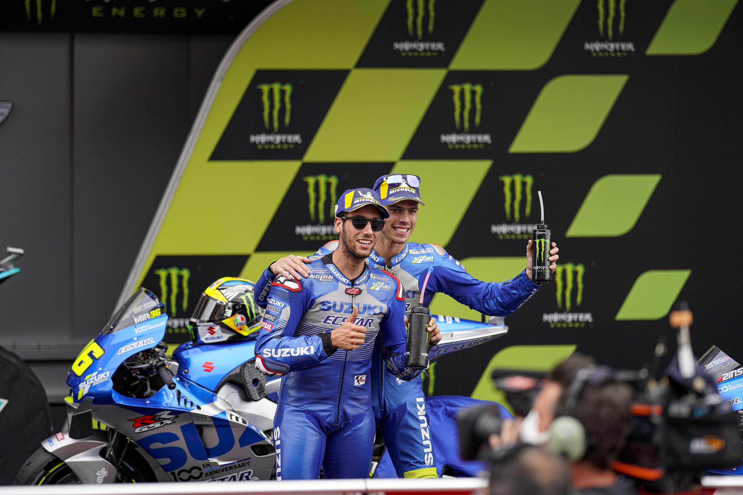 Monster Energy Gives Team Suzuki Ecstar 1