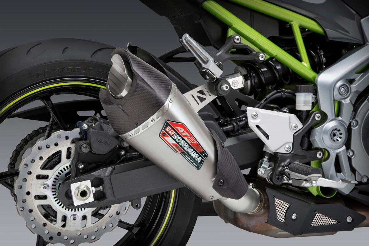 201210 Yoshimura Introduces Kawasaki Z900 AT2 Slip-on (1)