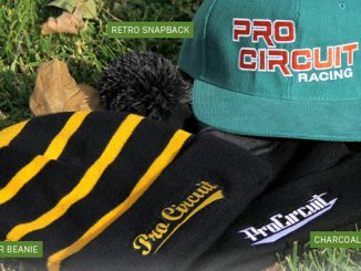 201212 Pro Circuit Charcoal Beanie, Stinger Beanie and Retro Snapback (678)