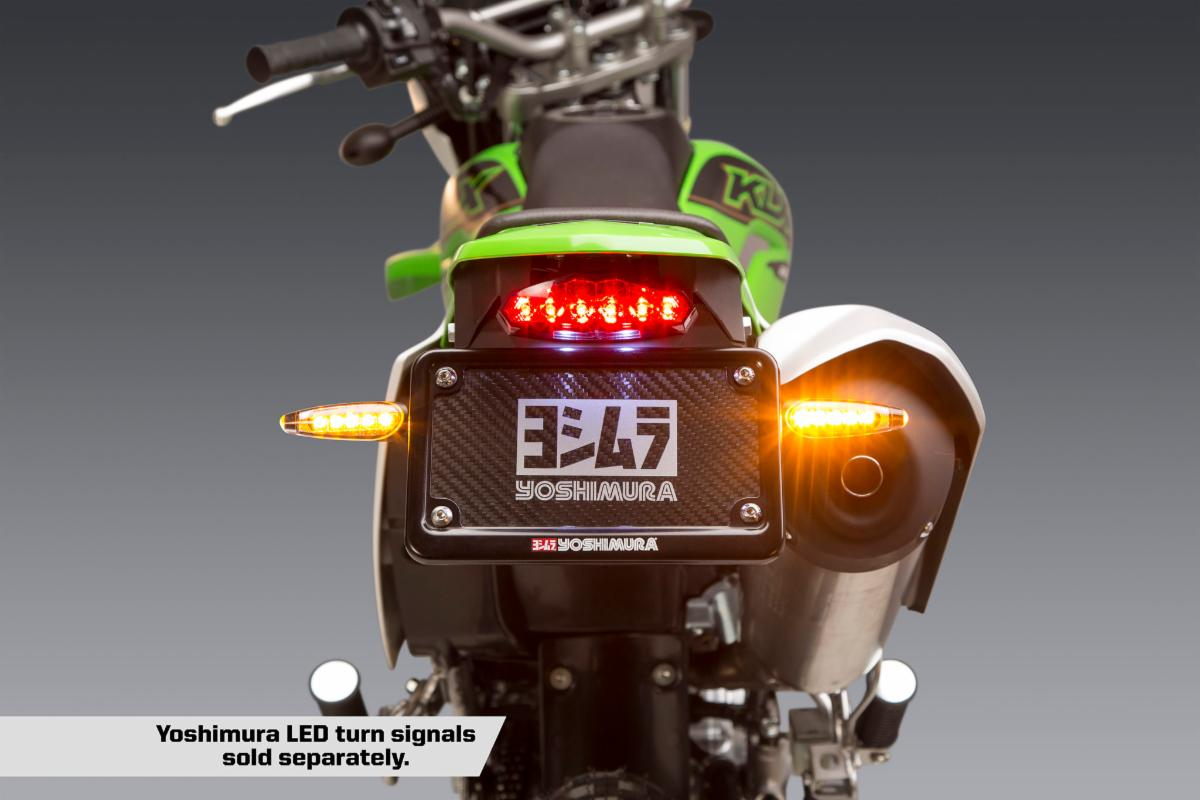 201222 Yoshimura Introduces 2020-21 Kawasaki KLX230 Fender Eliminator Kit (1)