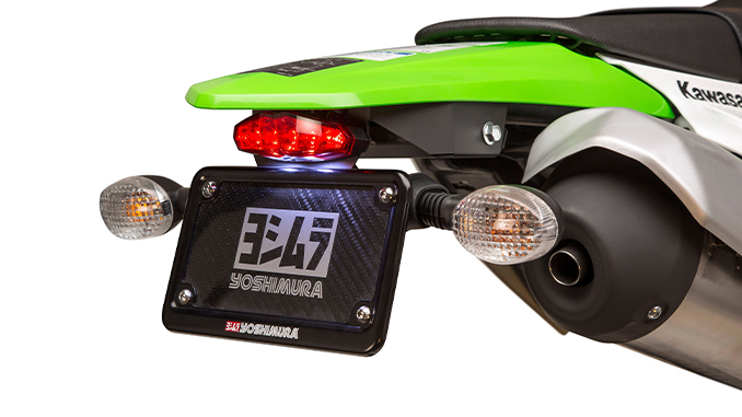 201222 Yoshimura Introduces 2020-21 Kawasaki KLX230 Fender Eliminator Kit (678)