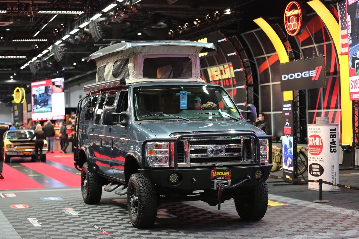 2013 Ford E350 Sportsmobile 6.8L, Automatic (Lot S180) sold at $176,000