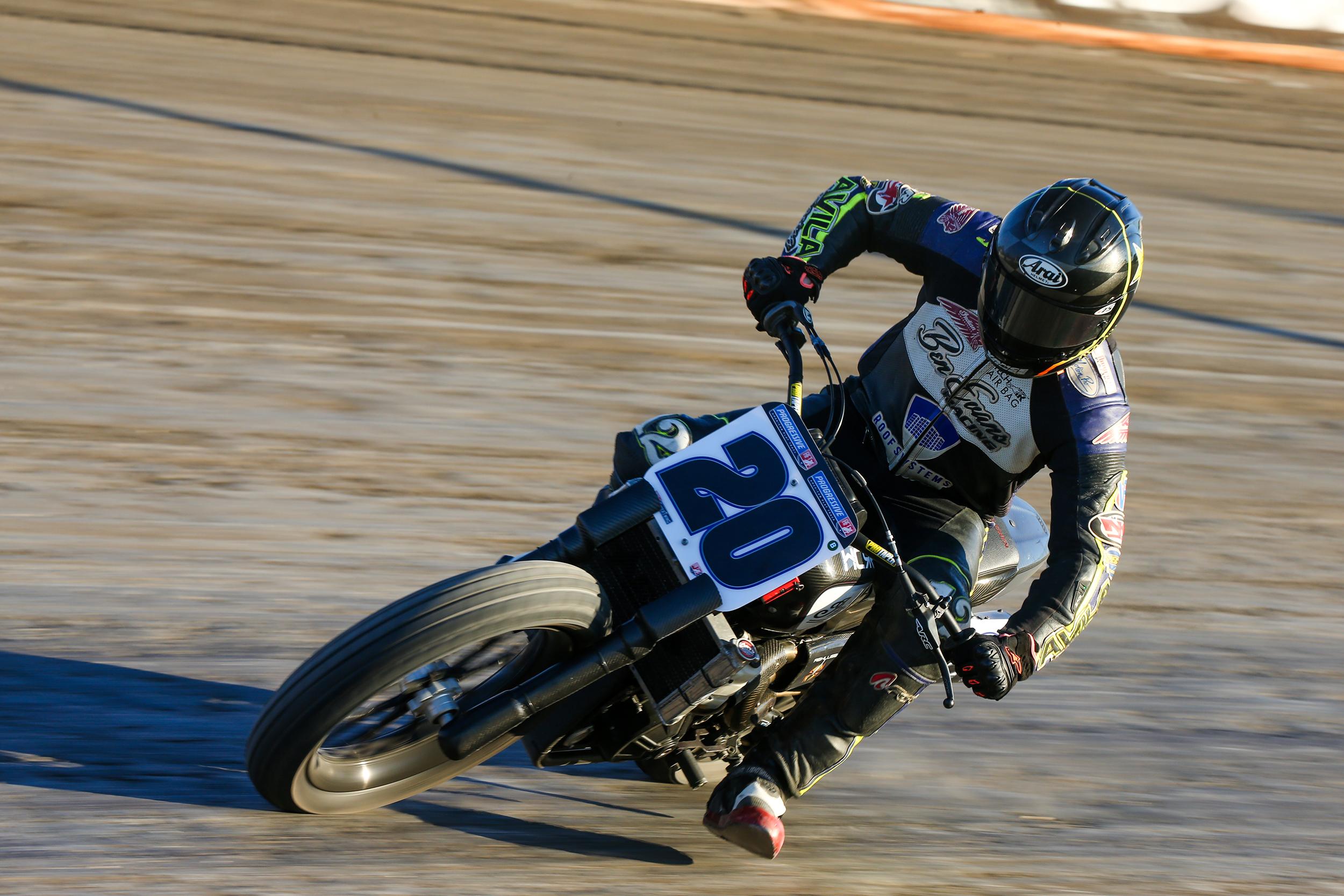 Jarod Vanderkooi (No. 20 JCS Racing HCRR Indian FTR750)