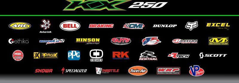 Kawasaki Race Team sponsor logos copy