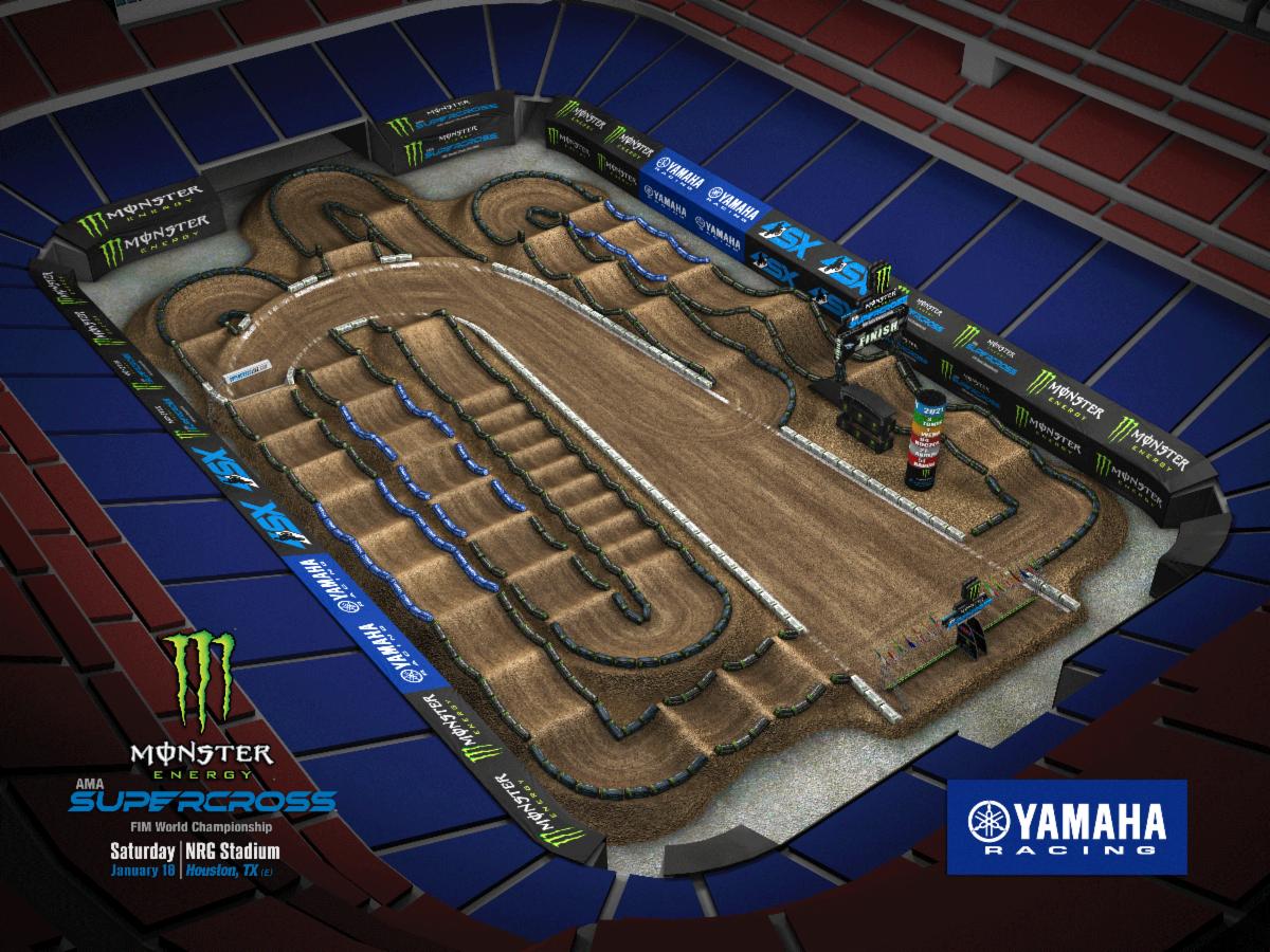 Round 1 - Houston Track Map