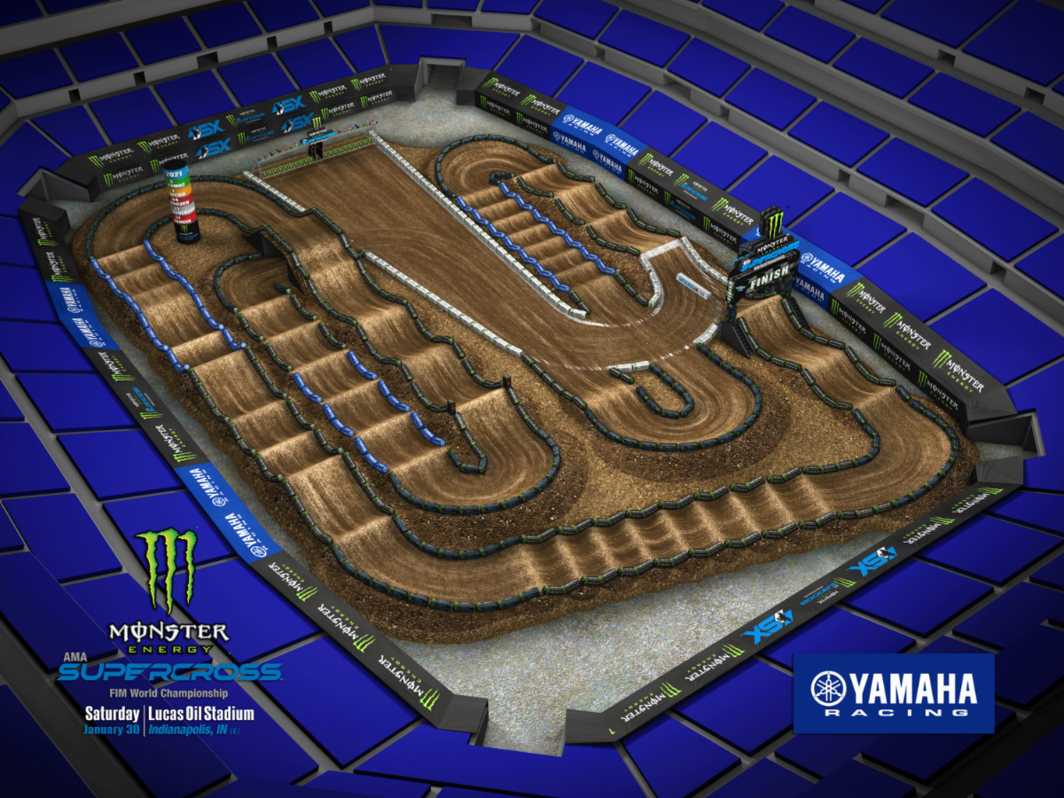 Round 4 - Indianapolis Track Map