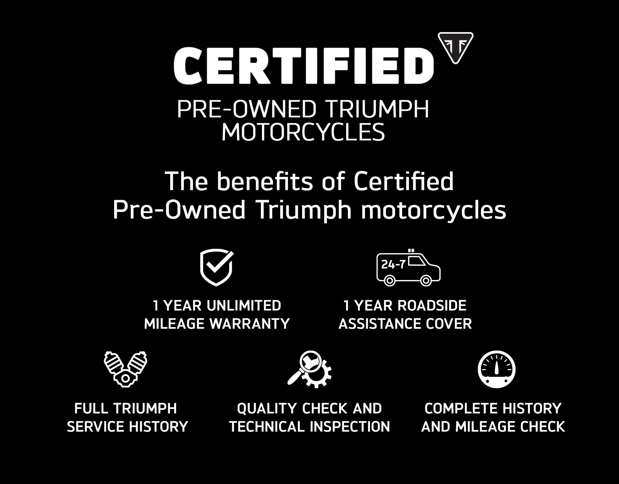 Triumph Motorcycles Certified Pre-Owned