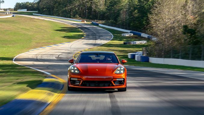 2021 Porsche Panamera Turbo S sets production sedan benchmark at Michelin Raceway Road Atlanta (678)