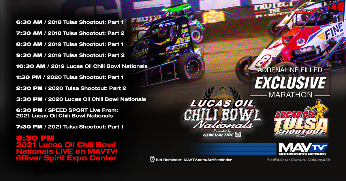 210112 Chili Bowl - MAVTV