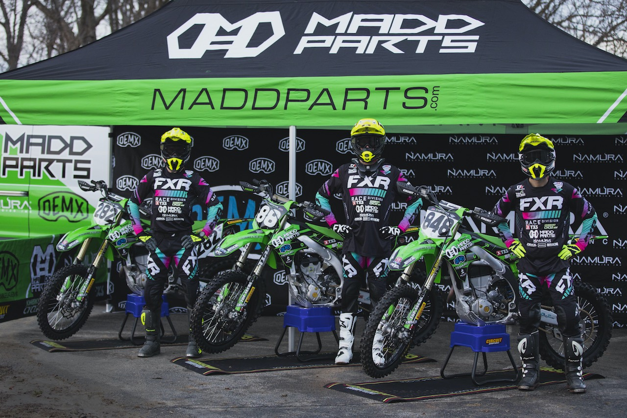 210113 Madd Parts:Double Eagle MX:Namura Technologies Kawasaki