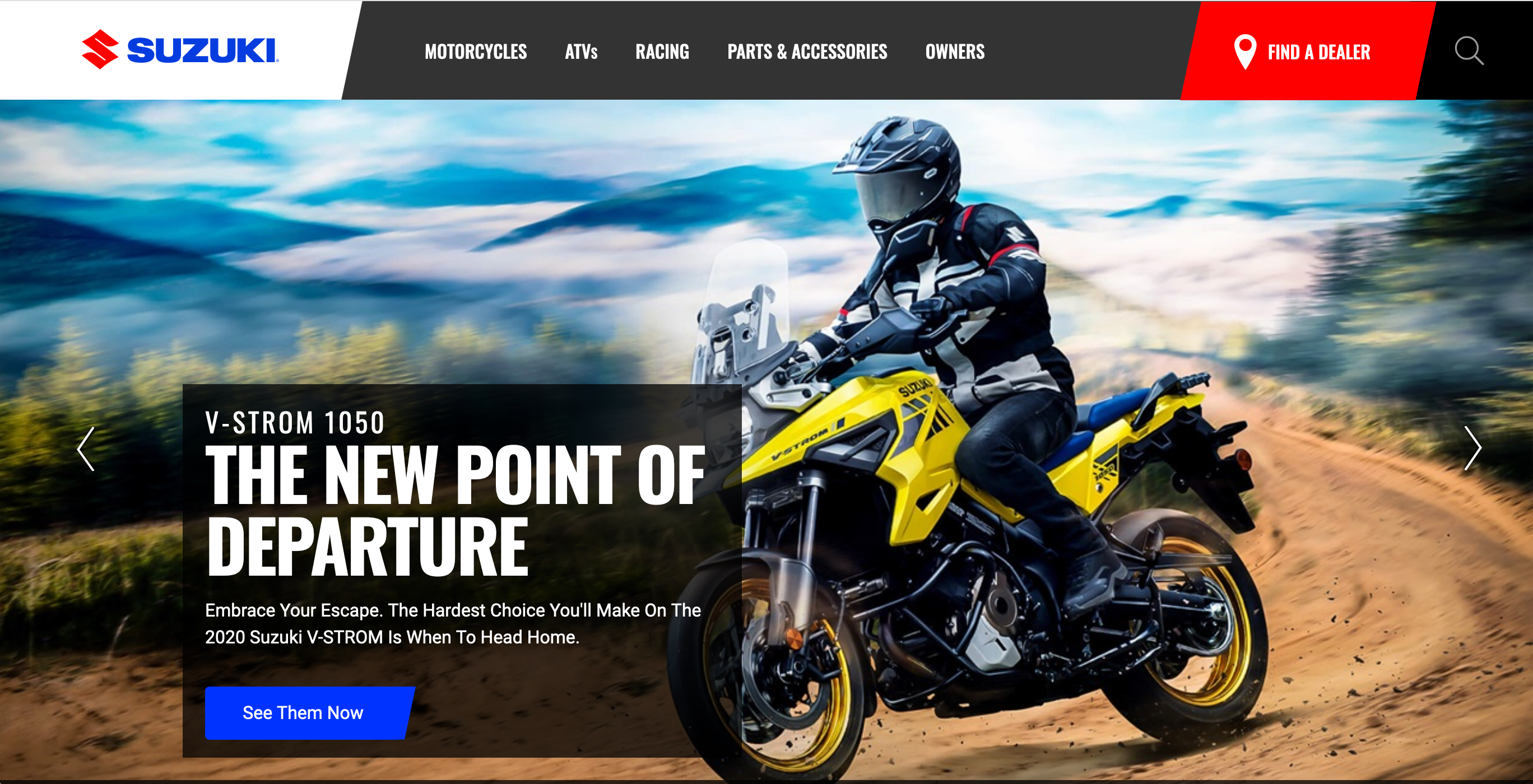 210122 Suzuki Launches All-New Website Experience screen shot