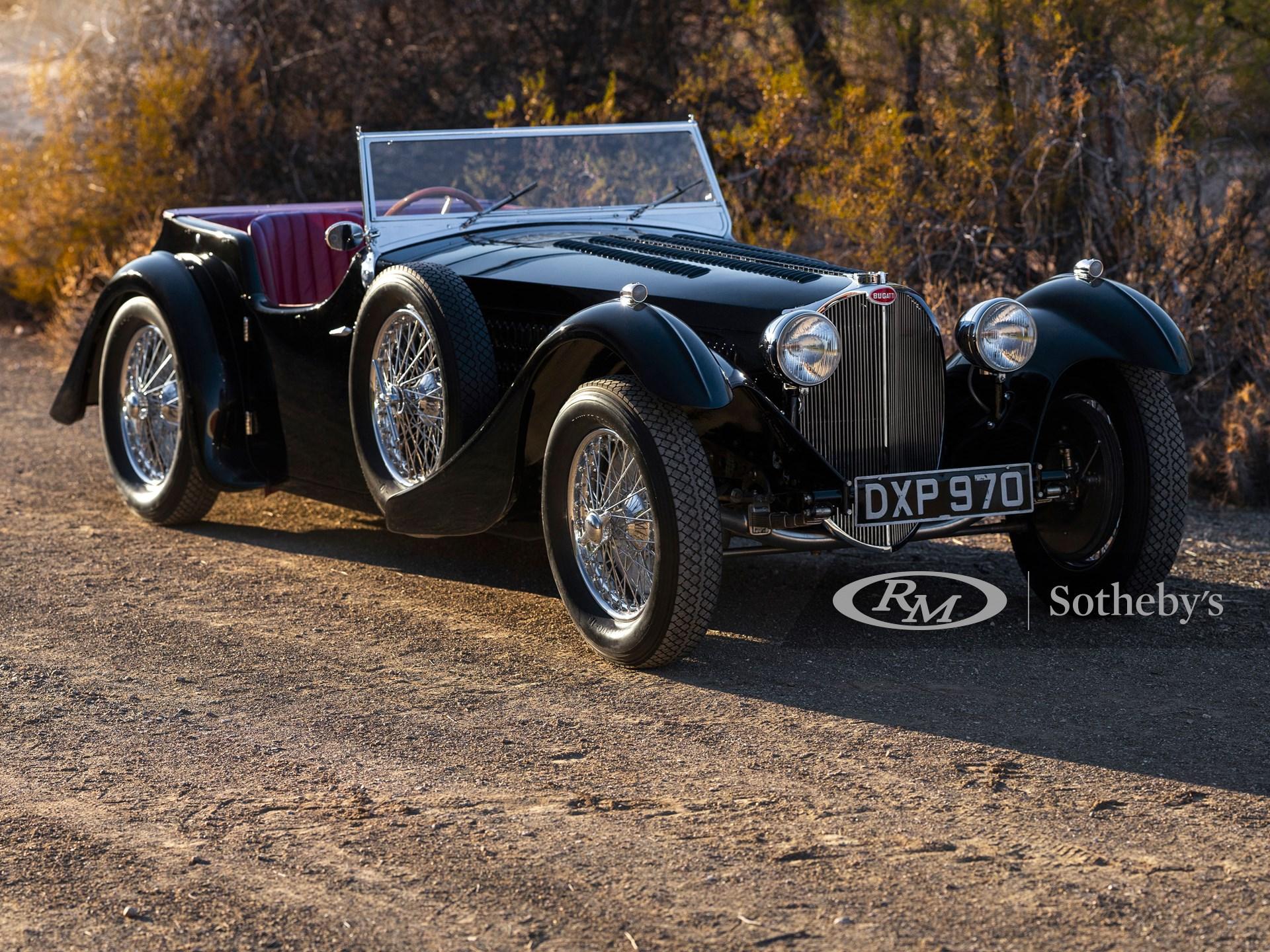 210125 1937 Bugatti Type 57SC Tourer by Corsica Patrick Ernzen © 2020 RM Sothebys