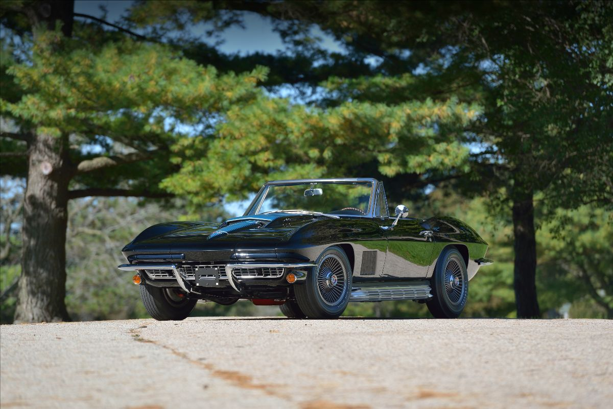 210126 1967 Chevrolet Corvette L88 Roadster Sold at $2,500,000 (Lot MG5)