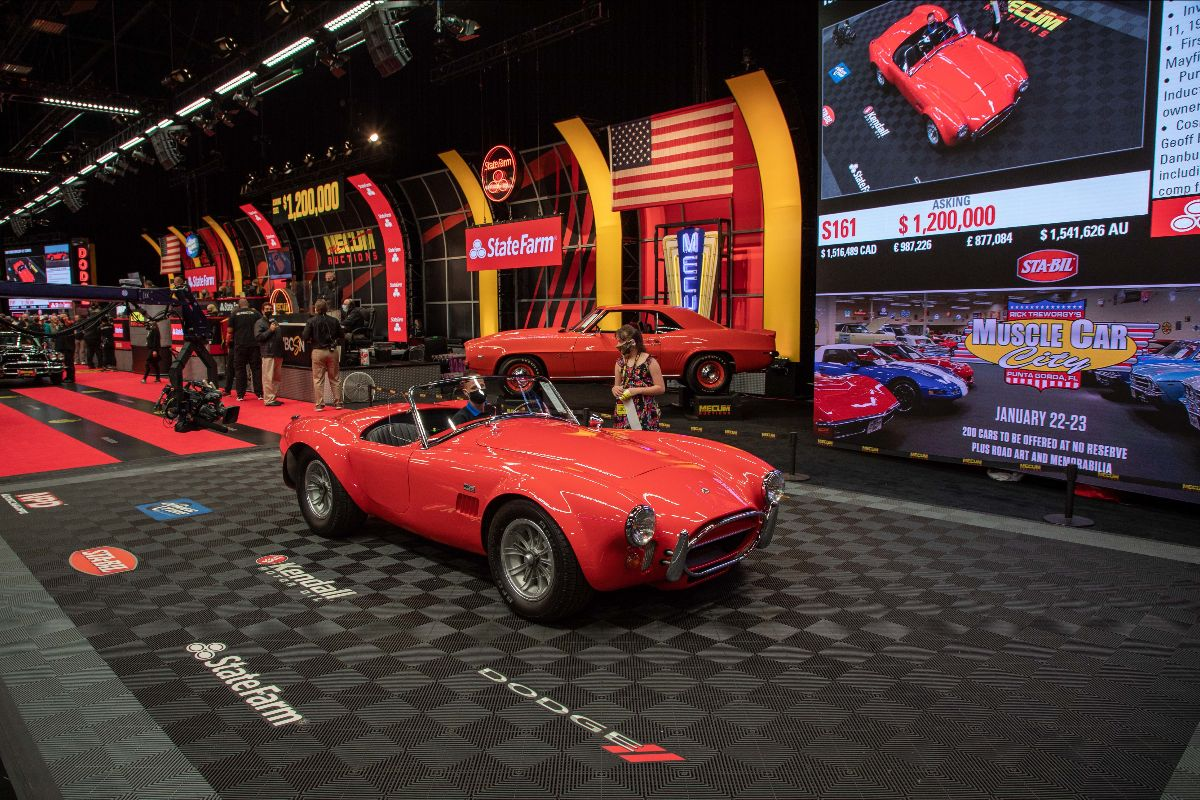 210126 1967 Shelby 427 Cobra Roadster Sold at $1,375,000 (Lot S161)