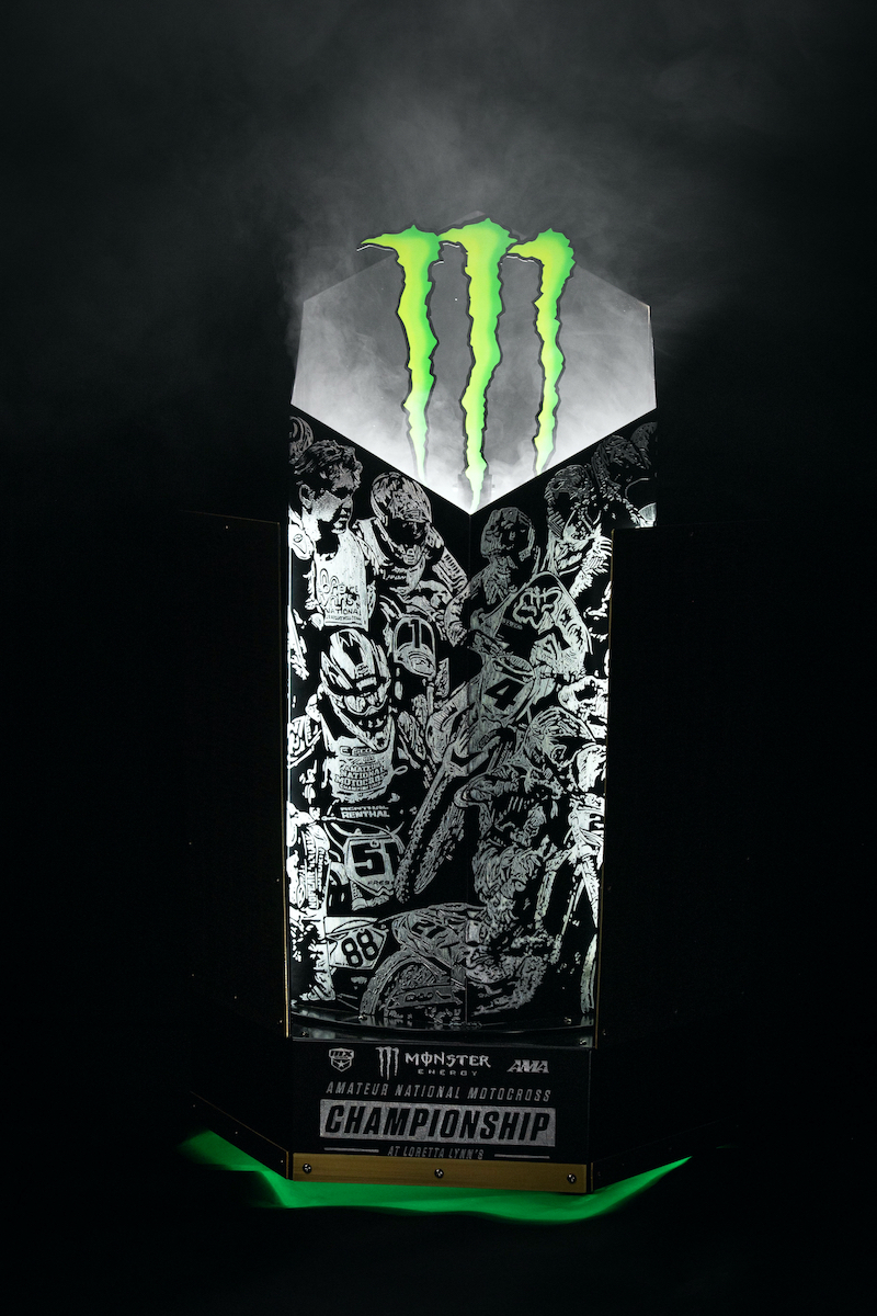 210126 Monster Energy AMA Amateur National Motocross Championship Trophy (2)