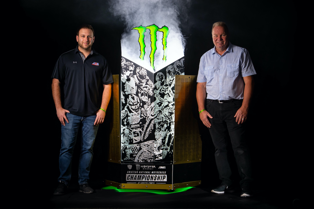 210126 Monster Energy AMA Amateur National Motocross Championship Trophy