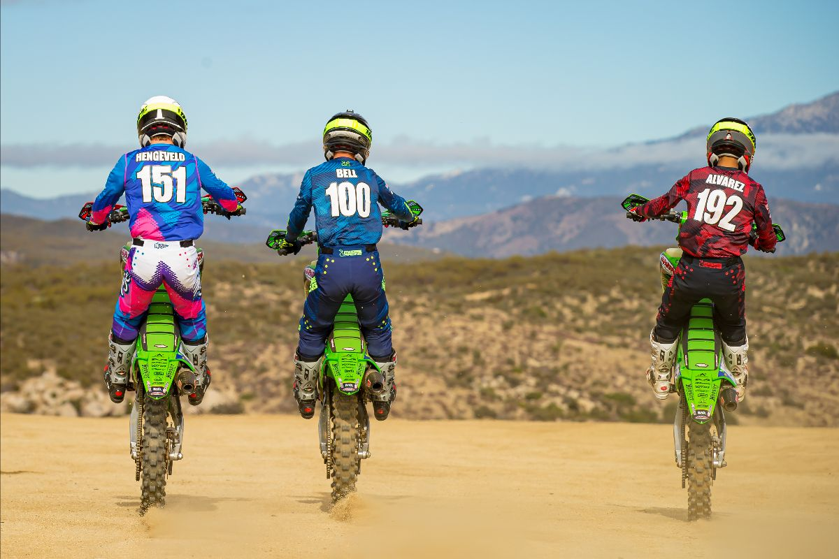 Kawasaki Team Green™ Announces Off-Road Racing Teams and Riders for 2021 Racing Season (9)