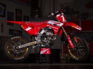 Kyle Peters' Honda CRF250R (678)