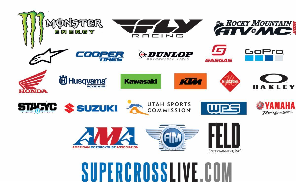 Supercross banners
