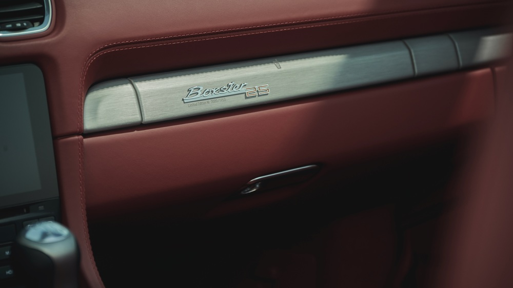 New limited-edition anniversary model- Boxster 25 years (3)