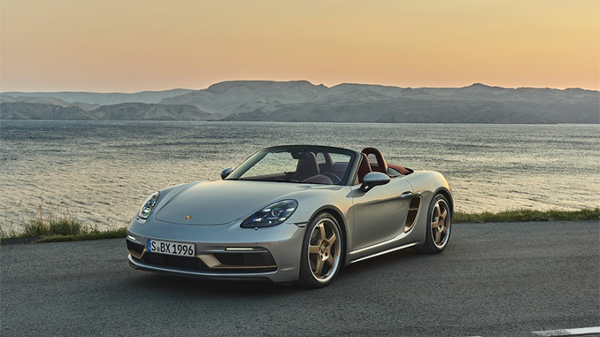 New limited-edition anniversary model- Boxster 25 years (678)