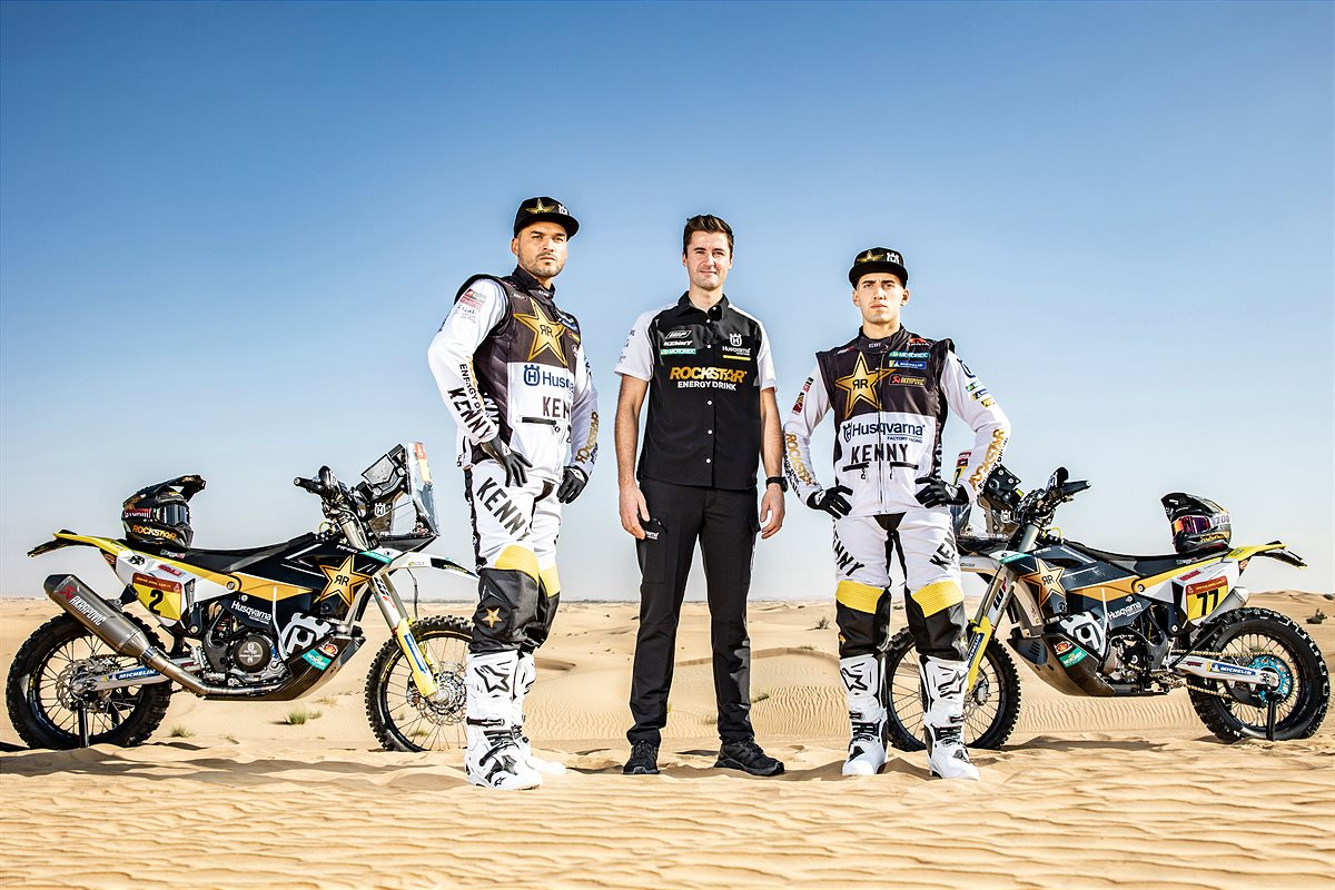 Pablo Quintanilla, Luciano Benavides, Pela Renet - Rockstar Energy Husqvarna Factory Racing